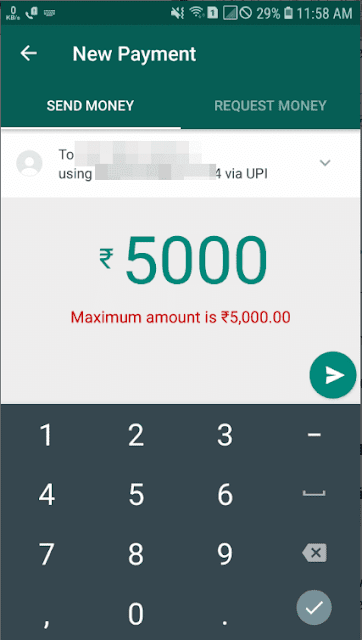 whatsapp se upi id par paise kaise bheje, whatsapp se qr code scan karke paise kaise bheje, how to send payment by whatsapp on upi in hindi