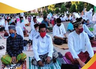Tata Cara Shalat Idul Fitri Lengkap Beserta Bacaan, Hukum dan Sunahnya