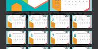 Download Kalender Tahun 2018 Masehi / 1439 Hijriah Indonesia Lengkap