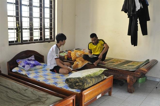 Gia Lai: Thí sinh ở trọ tại trụ sở Công an phường