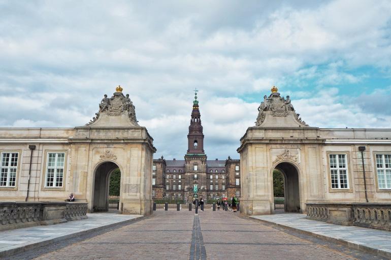 Château de Christiansborg à Copenhague