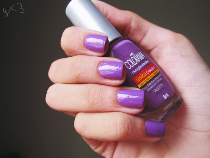 Esmalte Violeta da Colorama