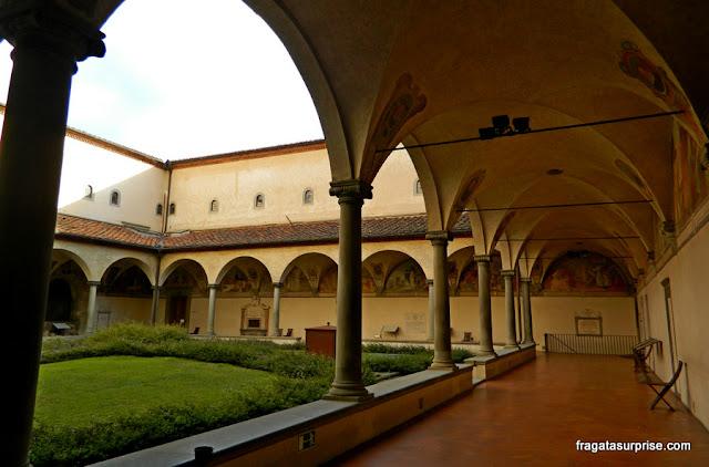 Claustro do Mosteiro de San Marco, em Florença