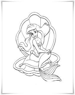 ausmalbilder zum ausdrucken: ausmalbilder meerjungfrau