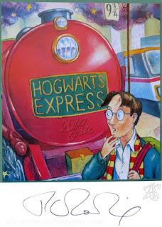 J.K. Rowling Autograf Autograph Harry Potter