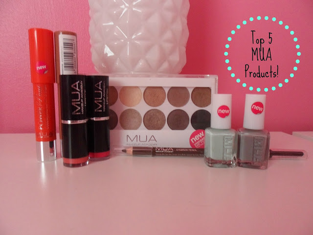 My Top 5 MUA Products!