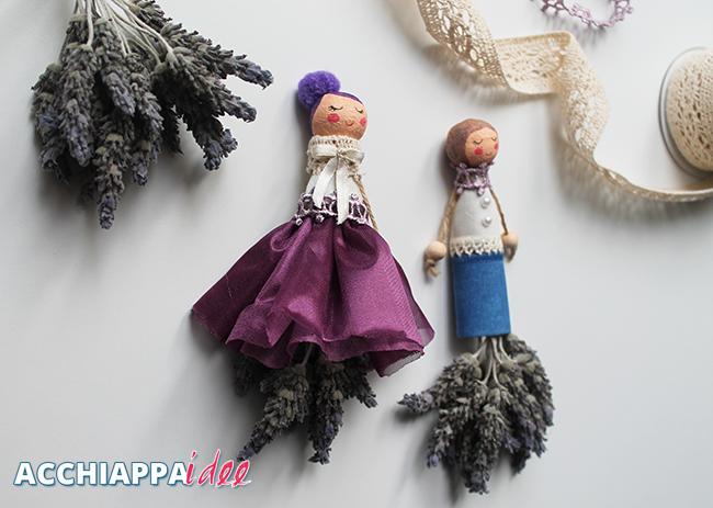 bambole di lavanda homemade per profumare gli ambienti e non solo!