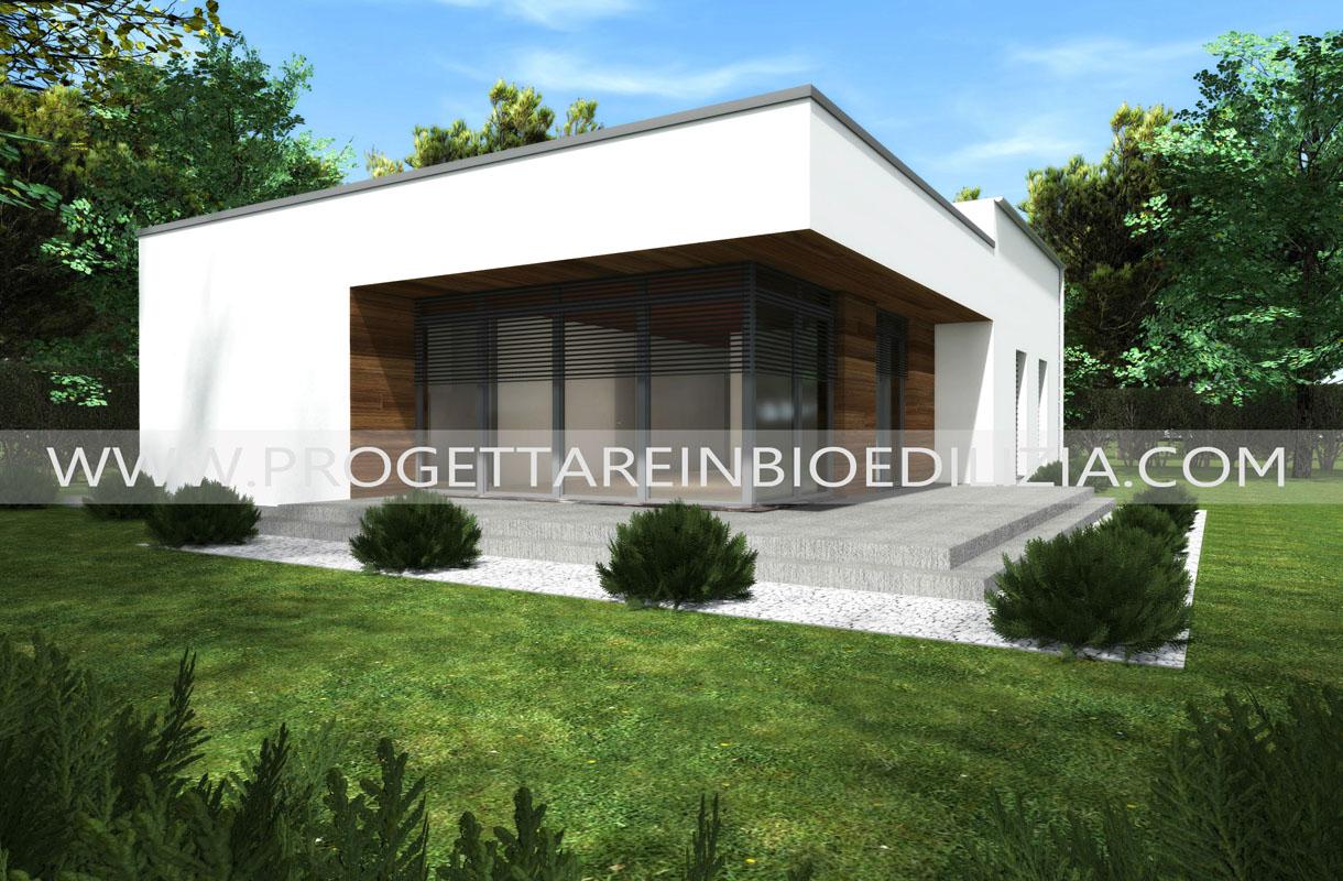 Bioedilizia case prefabbricate ecologiche case for Design moderno di portico in vetro