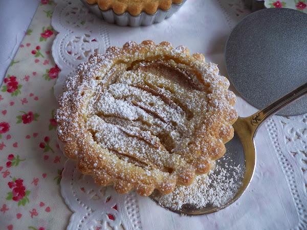 Receta del día: tarta de peras y almendras
