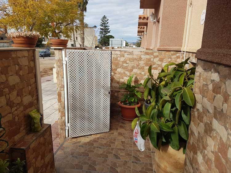 venta de chalet unifamiliar paseo de gata grao castellon terraza5