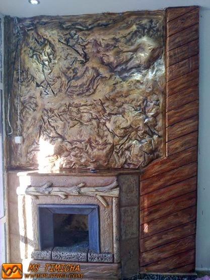 Plâtre cheminée