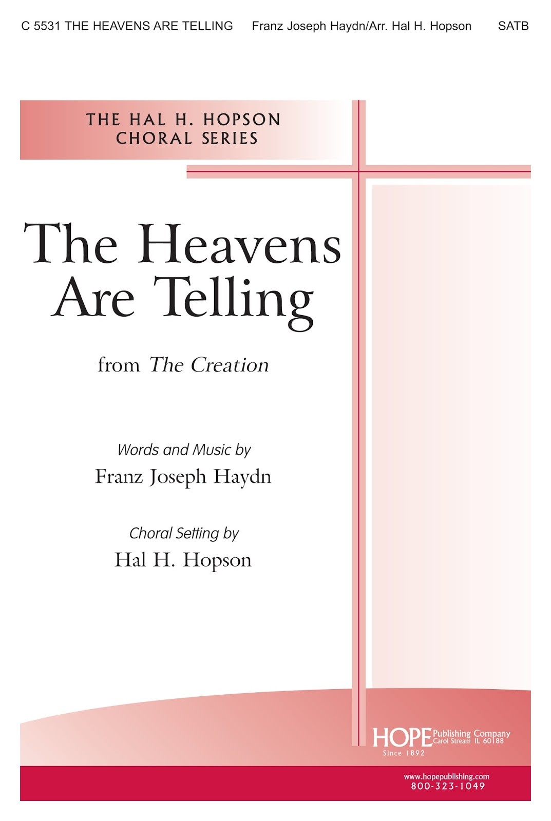 Download The Heavens Are Telling Music Sheet Note in PDF