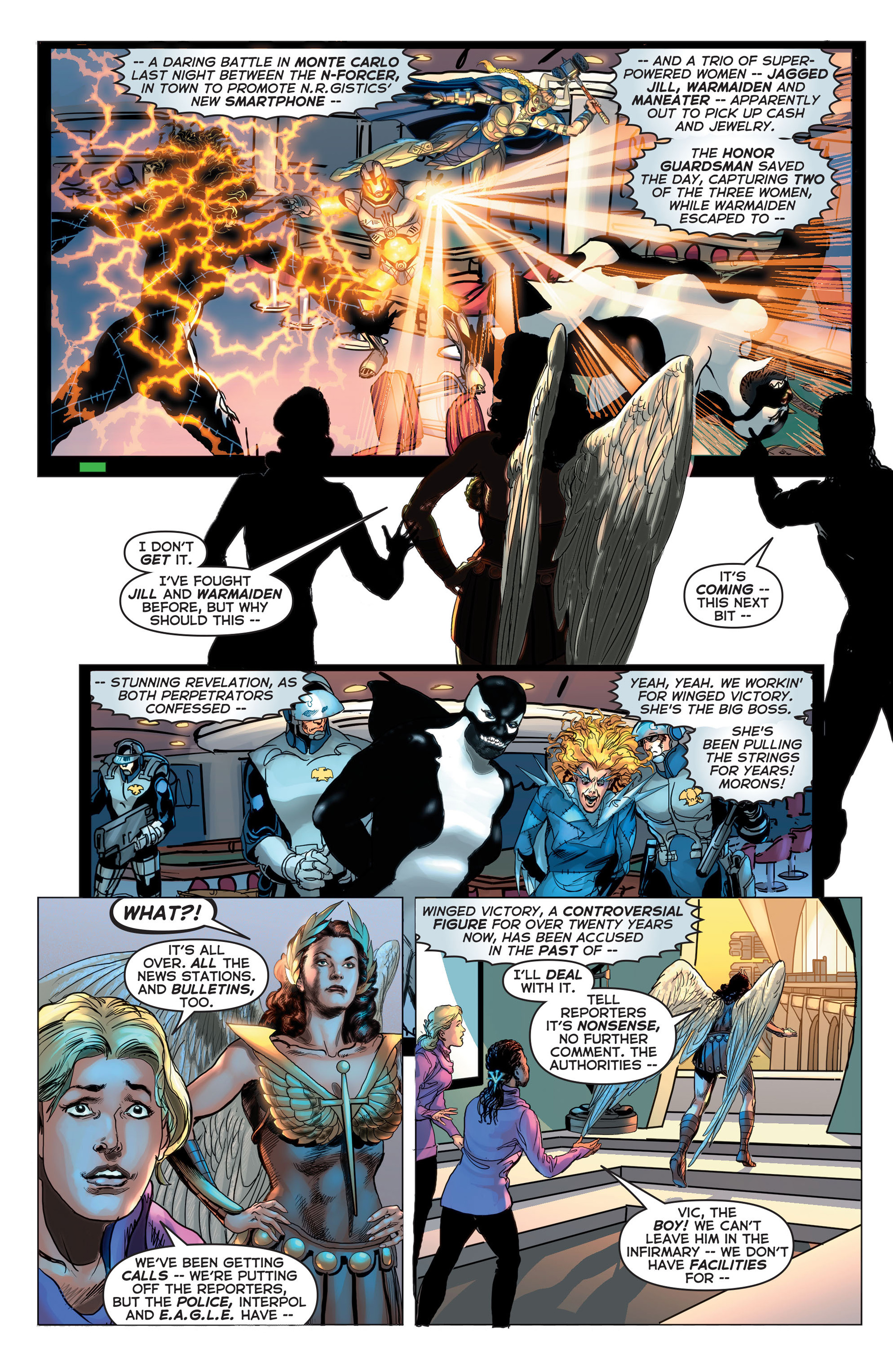 Read online Astro City comic -  Issue #7 - 9