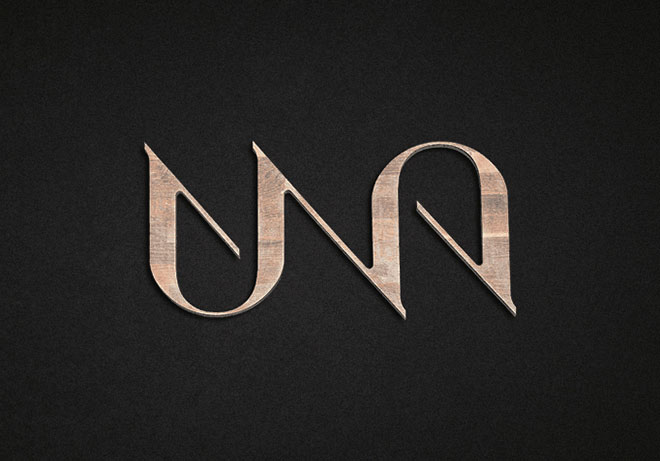Pengertian Ambirgam, Inspirasi Desain Logo Ambigram - Una Kitchen Branding