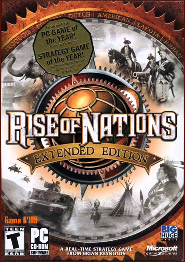 Rise of Nations Extended Edition Download Cover Free Game