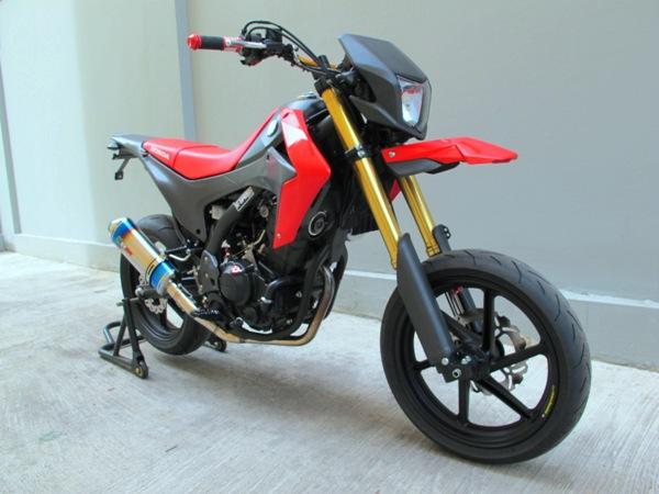blog of the biker �� honda crf250l supermoto using cbr250r