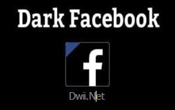 dark facebook mod apk