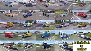 AI Traffic Pack 1.1.1 - mod by Jazzycat