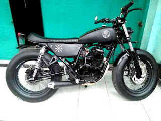 Cara modifikasi japstyle motor Scorpio