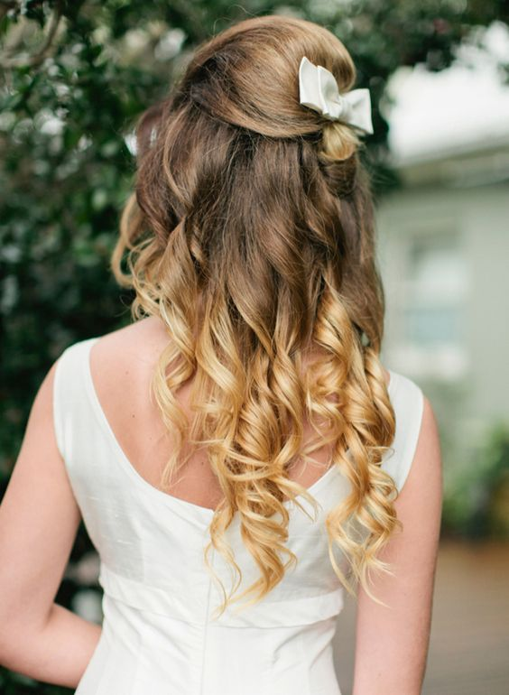 Bridal Ombre Hairstyles