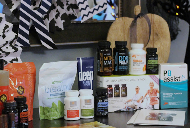 Harvest Night with doTERRA essential oils