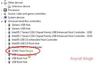 SOMC Flash Devices