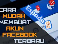 Cara Daftar dan Membuat akun Facebook Terbaru