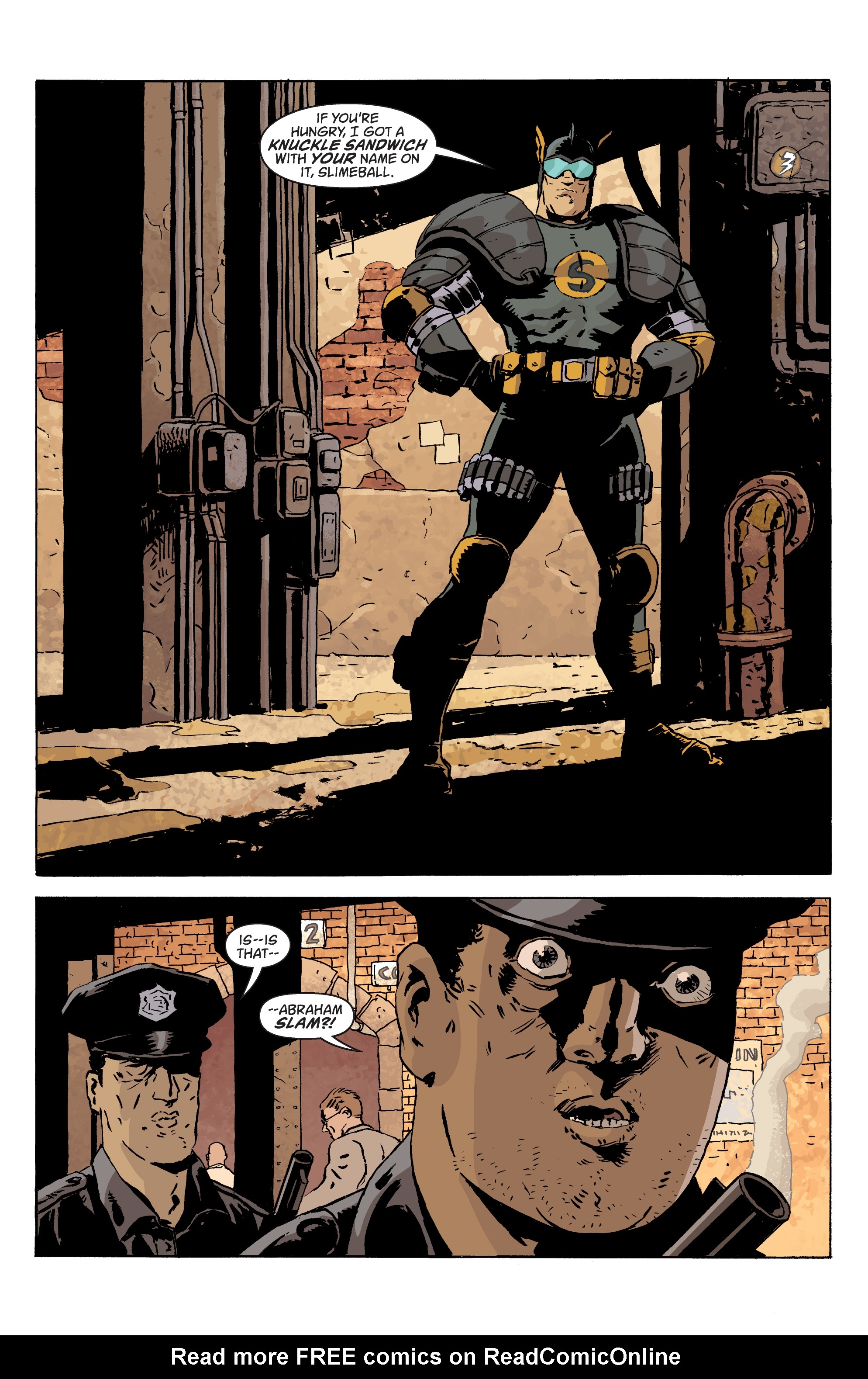 Read online Black Hammer comic -  Issue #10 - 16