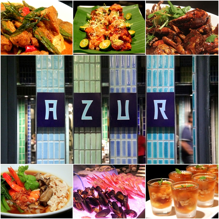 Singapore Hawker Food Menu