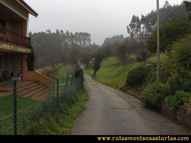 Prado Marqués: Saliendo de la parte alta de Moire.