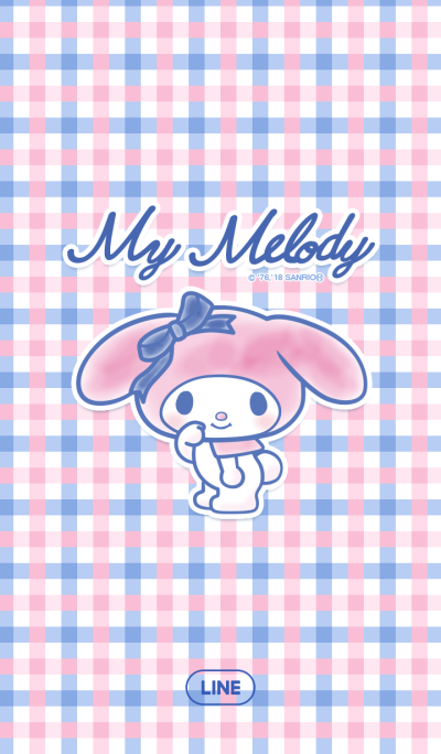 My Melody: Pink & Navy