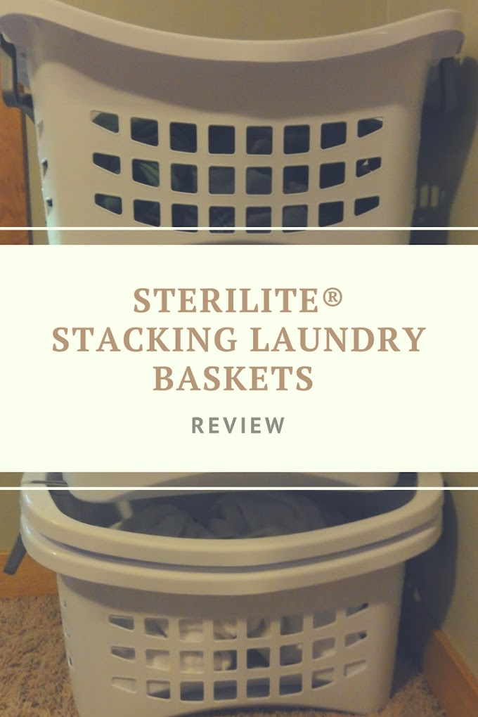 Sterilite® Stacking Laundry Baskets Review