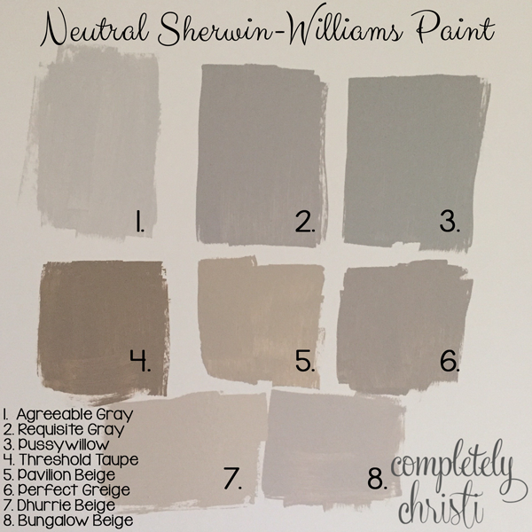 Sherwin Williams Popular Gray: Master Bedroom, Guest Bedroom, Bonus Room Updates