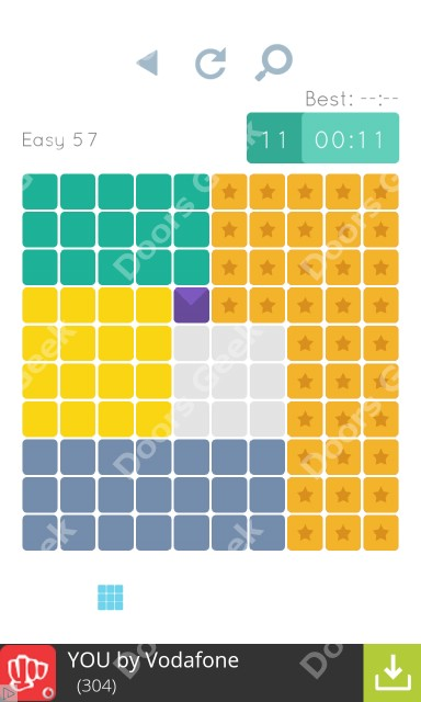 Cheats, Walkthrough for Blocks and Shapes Level 57