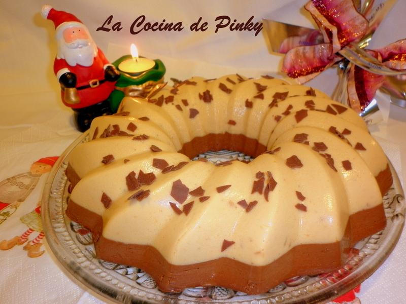 Pastel De Turron Y Chocolate