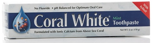 coral whitening toothpaste