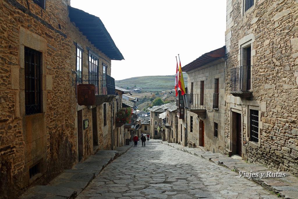 Calle de la Rua, Puebla de Sanabria, Zamora