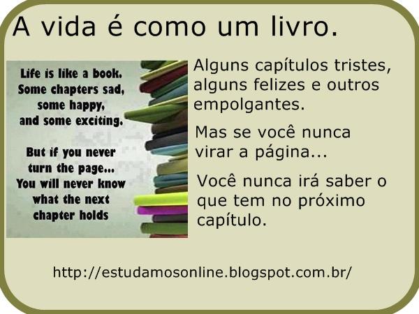 Estudamos On Line: Frase Em Inglês E Tradução Em Português