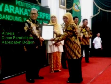 Kinerja Dinas Pendidikan Kabupaten Bogor 234