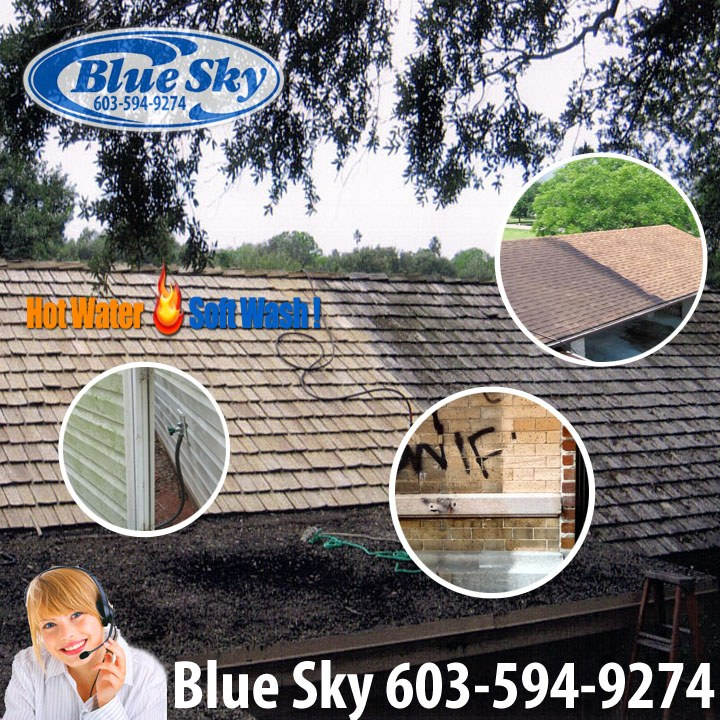 Blue Sky Pressure Washing is your Eco Friendly company in New Hampshire