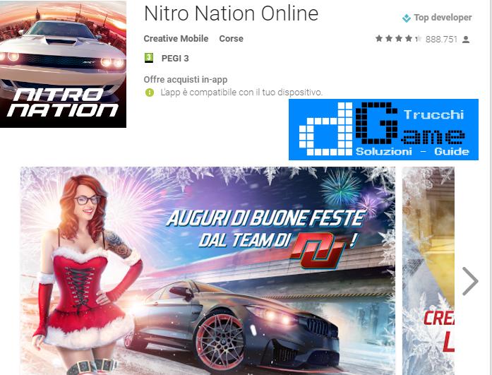 Trucchi Nitro Nation Online Mod Apk Android v4.0.3