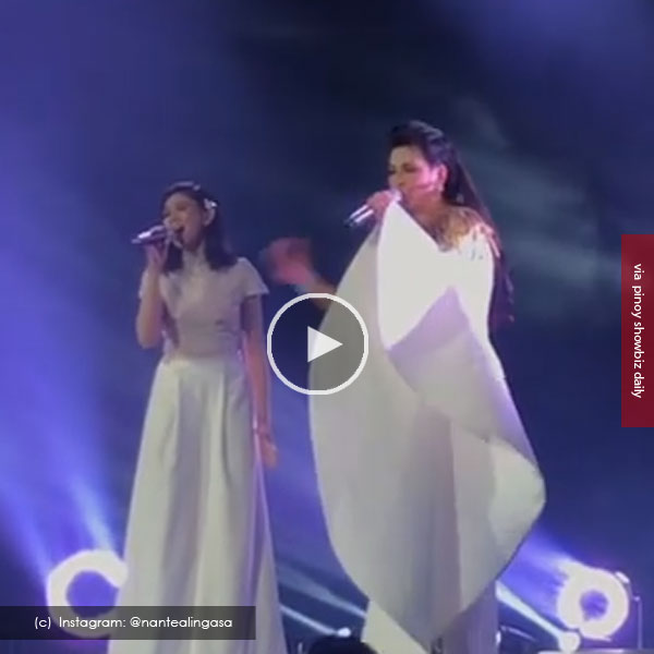 Watch: Sarah Geronimo and Regine Velasquez hit high notes at Regine 3.0 Concert