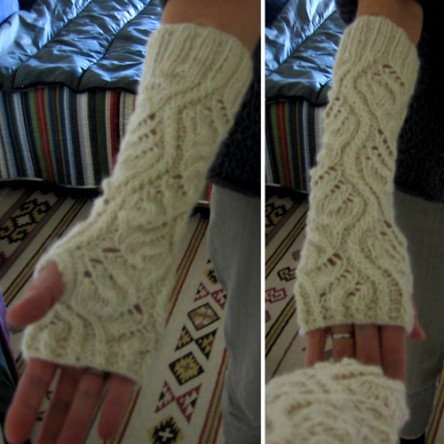 Fingerless Mittens - Free Pattern
