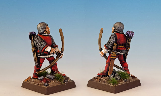 Longbowman, Citadel C26 Men at Arms (Michael and Alan Perry, 1984)