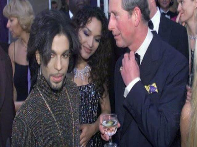Unreleased A Música de Prince  que refere-se ao príncipe Charles como um Reptiliano!