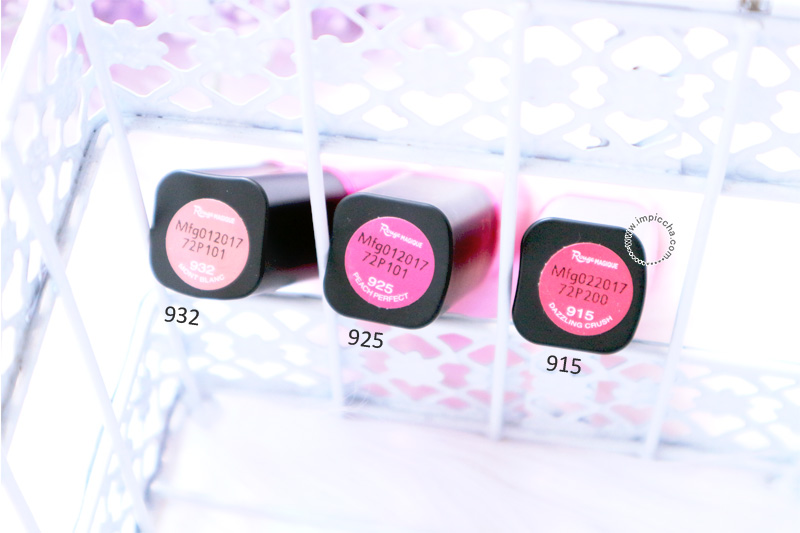 Packaging Loreal Paris Rouge Magique's Lipstick - Pink