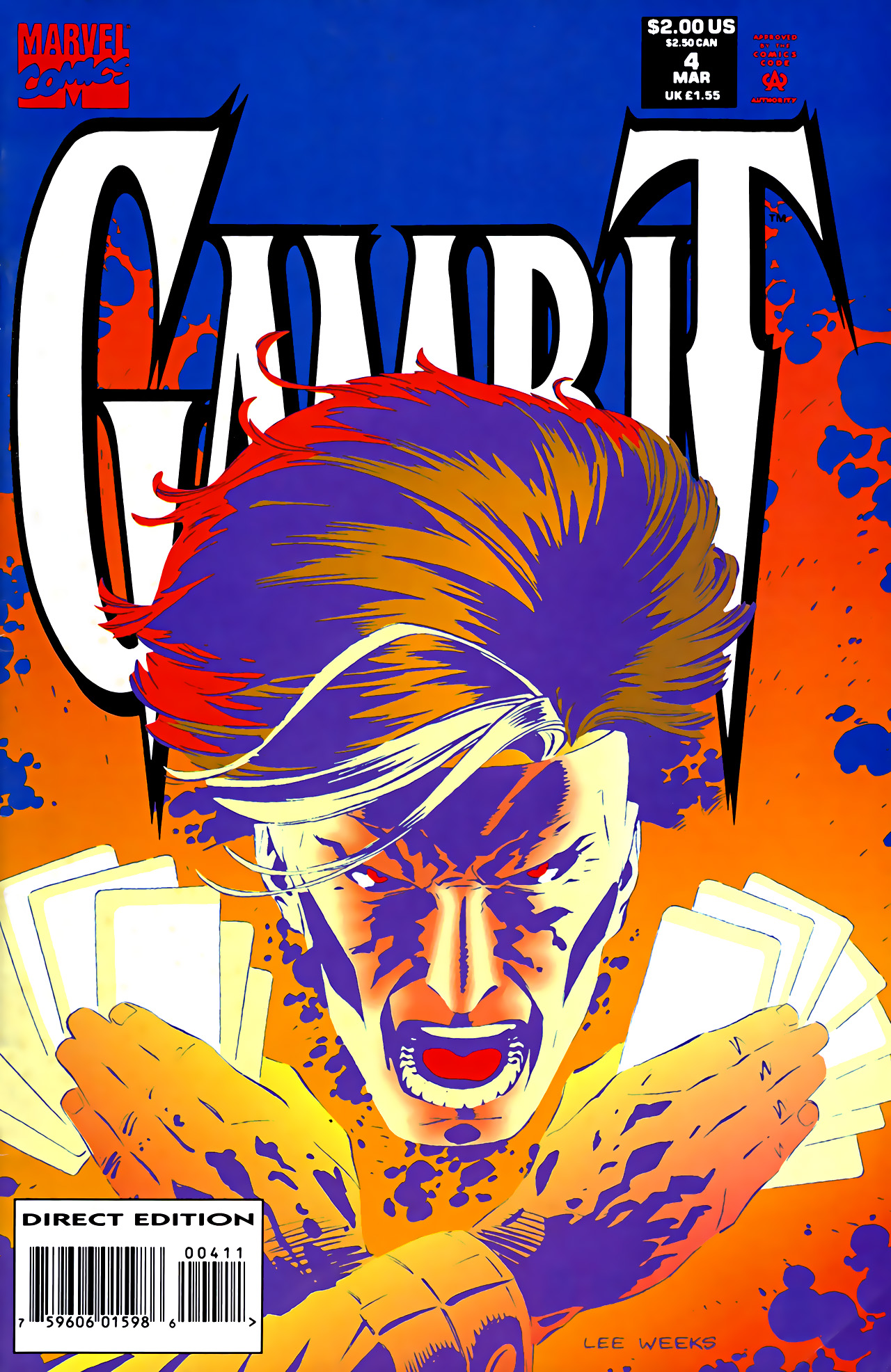 Gambit (1993) 4 Page 1