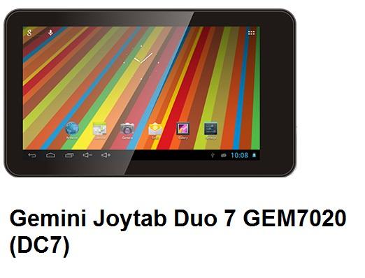 Gemini Joytab Duo 7 GEM7020 (DC7) 7-inch Android tablet