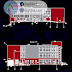 مخطط مشروع مبنى اداري بكل التفاصيل اوتوكاد dwg