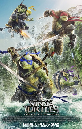 Teenage Mutant Ninja Turtles Out of the Shadows 2016 English 720p WEB-DL 850MB